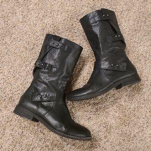 Eileen Fisher Moto Boots
